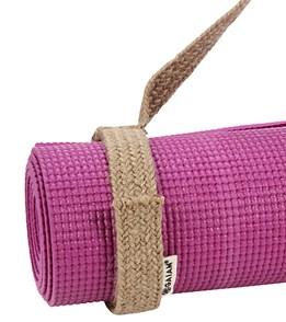 Gaiam Yoga Mat Sling Hemp At Yogaoutlet Com