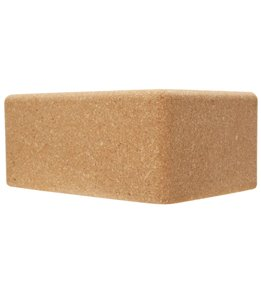 Gaiam Natural Cork Yoga Block Standard 4 Inch