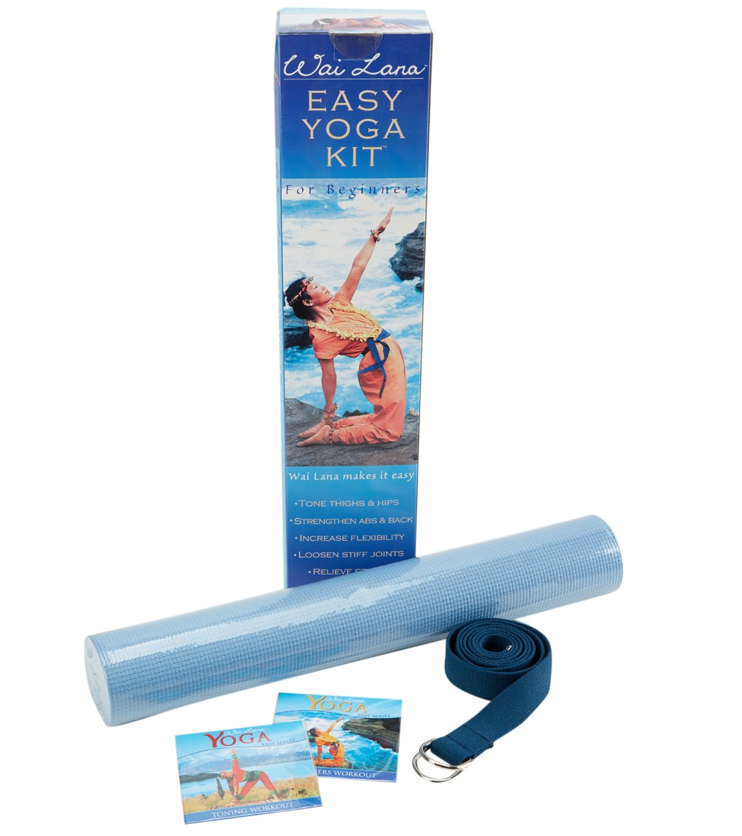 Wai Lana Easy Yoga Mat Kit At Swimoutlet Com Free Shipping
