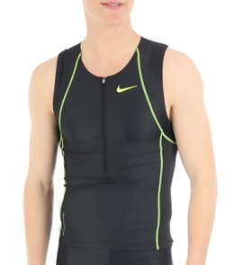 7d4c2d81e2dd9 Nike Triathlon Men s Sleeveless Singlet at SwimOutlet.com - Free ...