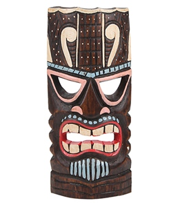 Wet Products Tiki Mask Painted 12