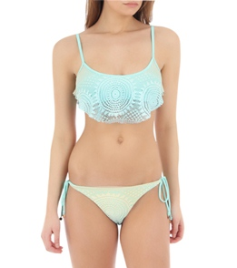 Bettinis On Vacation Trapese Crochet Top