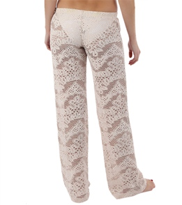 Bettinis Legacy Lace Crochet Low Rise Pants