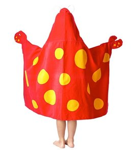 Stephen Joseph Kids' Crab Hooded Towel