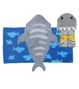 Stephen Joseph Kids' Shark Hooded Towel