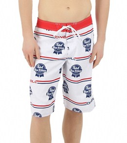 a0a15732ed O'Neill Men's PBR Logo Boardshort at SwimOutlet.com