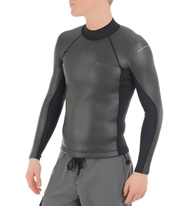 Xcel Men s Xcelerator Smoothskin Back Zip 2 1MM Jacket at SwimOutlet ... 5ec550601