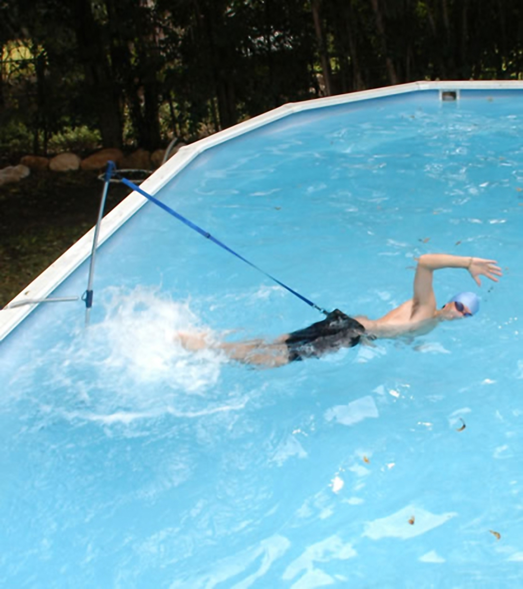 homeswimmer stationary swimming system at free shipping