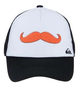 Quiksilver Boys  Diggler Mustache Trucker Hat (Kids) at SwimOutlet.com 01c2aa12cee7