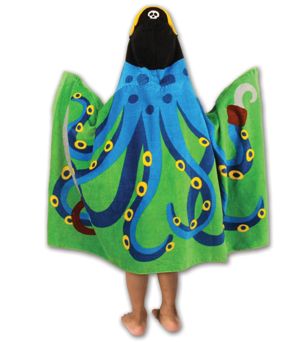3a0e8b6e09c Stephen Joseph Kids  Octopus Hooded Towel at SwimOutlet.com