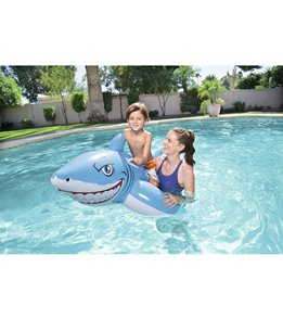Wet Products Great White Shark Ride On Pool Float