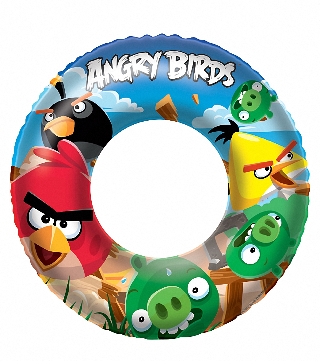 "Wet Products Angry Birds Swim Ring 22"" (3-6yrs) at ..."