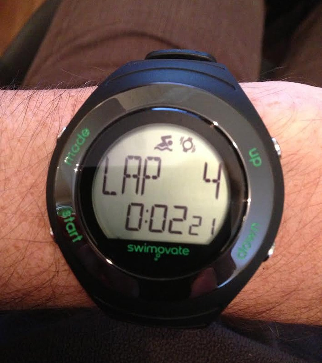 Swimovate Poolmate Live Swim Watch at SwimOutlet.com - Free Shipping 50906aabc