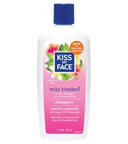 Kiss My Face Miss Treated Shampoo with Argan Oil, 11oz.