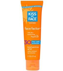 Kiss My Face SPF 30 Face Factor for Face & Neck Sunscreen