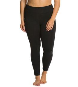 348cf420e4a Marika Plus Size Flat Waist Legging at YogaOutlet.com
