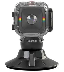 Polaroid Cube Waterproof Housing & Suction Mount
