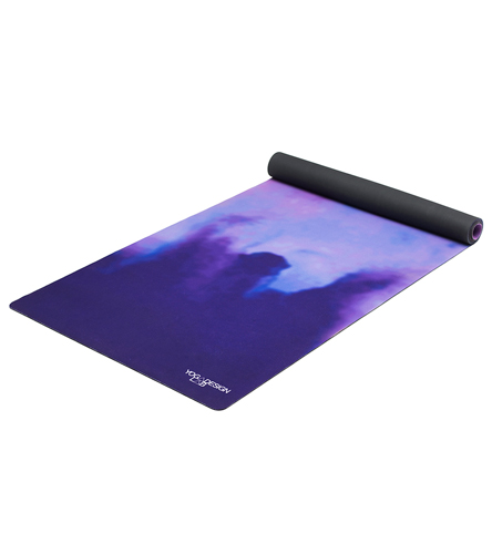 Eco Natural Yoga Mat Towel Combo: Yoga Design Lab Dreamscape Print Yoga Mat Towel Combo At