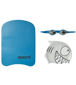 Sporti Kid's Shark Swim Gear Gift Set
