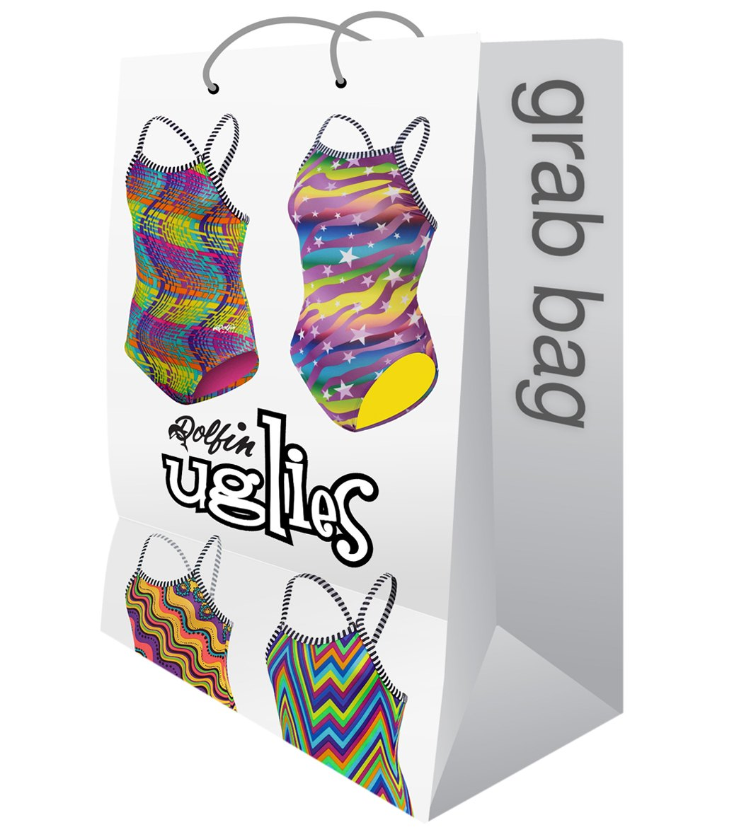 Dolfin Uglies Womens One Piece Swimsuit Grab Bag Assorted Colors