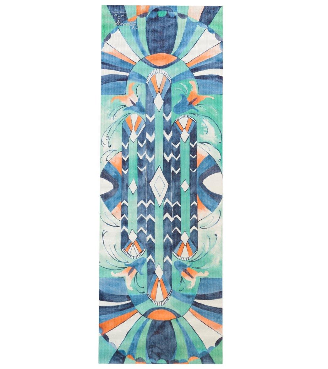 magic carpet sapphire deco thick yoga mat at swimoutlet. Black Bedroom Furniture Sets. Home Design Ideas