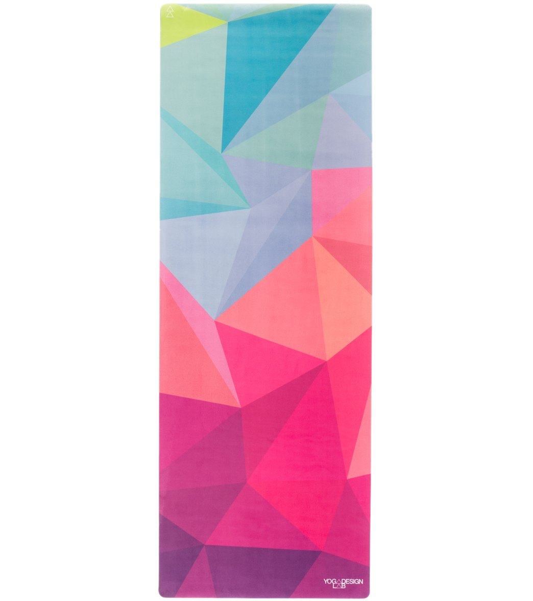 Yoga Design Lab Geo Yoga Mat Towel Combo 70 3 5mm At Swimoutlet Com Free Shipping