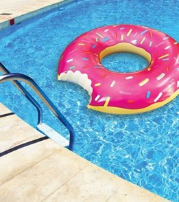 Big Mouth Toys The Gigantic Donut Pool Float