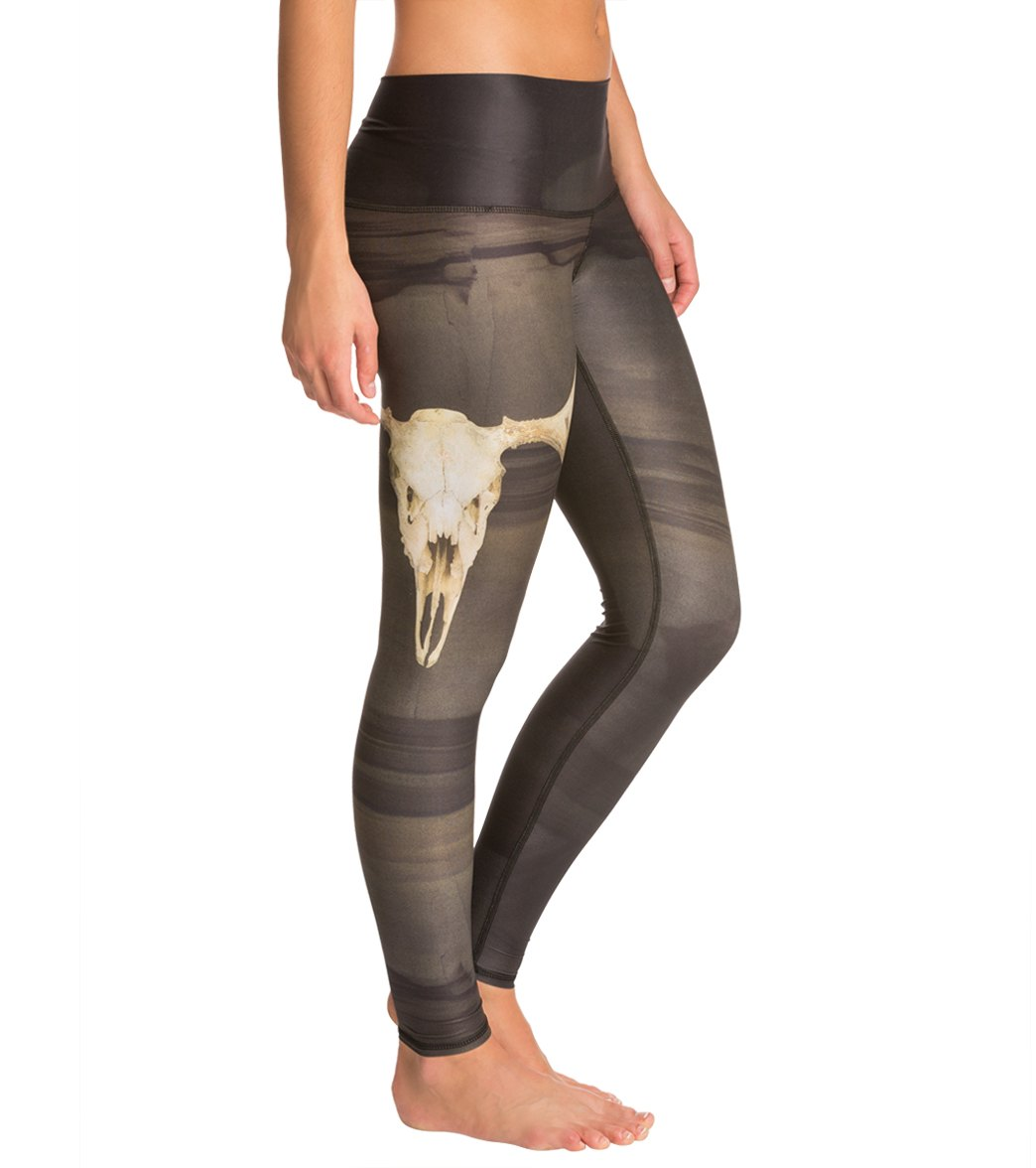 51beb6edb2579 Teeki Deer Medicine Hot Yoga Leggings at YogaOutlet.com - Free Shipping