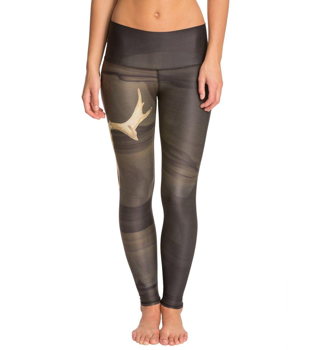 93483774ff Teeki Deer Medicine Hot Yoga Leggings at YogaOutlet.com - Free Shipping