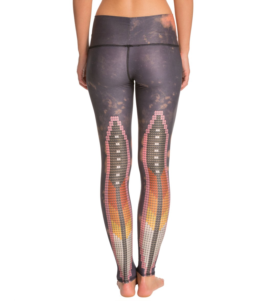 9398a5754cd99 Teeki Sacred Feather Legging at SwimOutlet.com - Free Shipping