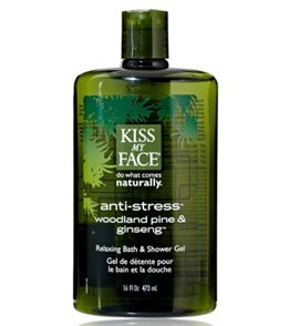 Kiss My Face Anti Stress Shower Gel 16oz