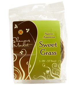 Shamans Market Sweetgrass Incense Braid