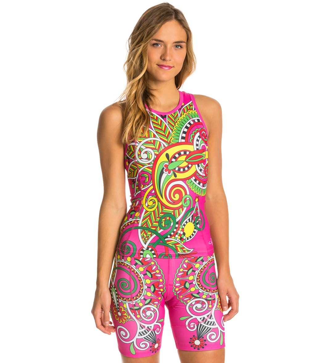 Triflare Women's Bollywood Triathlon Top at SwimOutlet.com