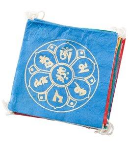 dZi Long Om Lotus Eco-Paper Prayer Flag
