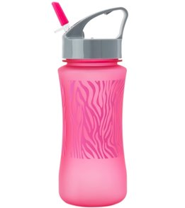 Gaiam Kids Water Bottle Pink Zebra