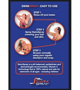 SwimSpray Continuous Chlorine Removal Spray 6 fl oz.