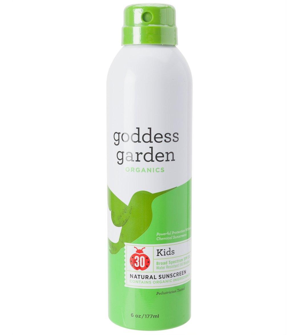 Goddess Garden Kid 39 S Organic Spf 30 Continuous Spray 6 Oz At