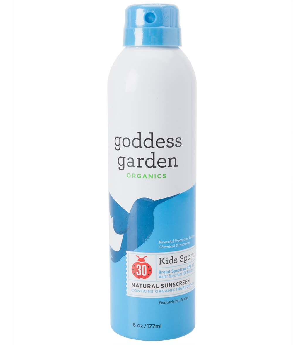 Goddess Garden Kid 39 S Sport Organic Spf 30 Continuous Spray 6 Oz At