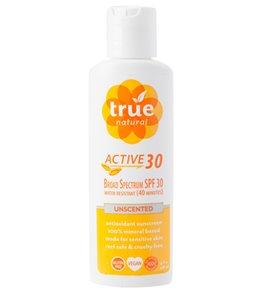 True Natural Active SPF 30 High Antioxidant Sunscreen (4 oz)
