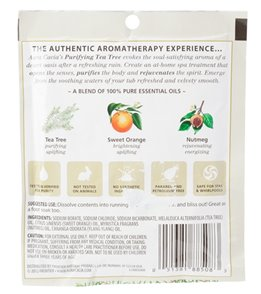 Aura Cacia Purifying Tea Tree Mineral Bath, 2.5oz