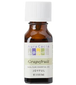 Aura Cacia Grapefruit 100% Pure Essential Oil - 0.5 oz