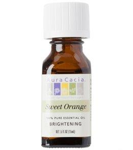 Aura Cacia Orange, Sweet 100% Pure Essential Oil - 0.5 oz