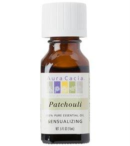 Aura Cacia Patchouli, Dark 100% Pure Essential Oil - 0.5 oz