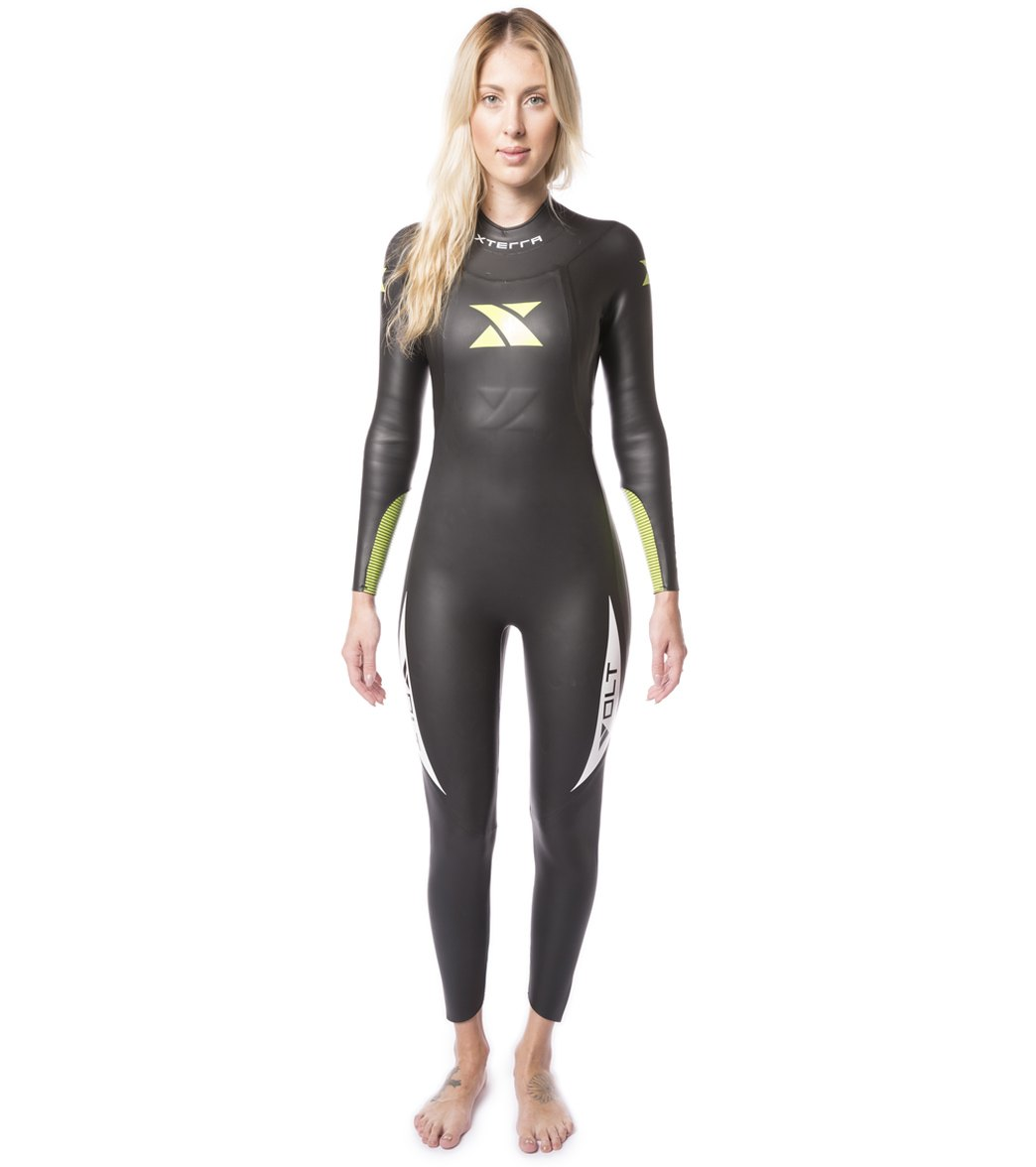 47f82b33a0 Xterra Wetsuits Women s Volt Full Tri Wetsuit at SwimOutlet.com - Free  Shipping