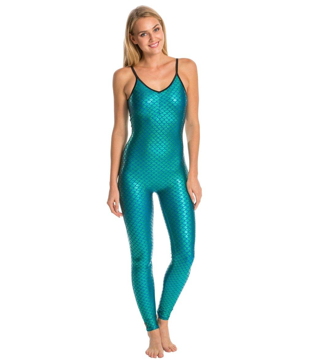 ef51963579ee Purusha People Mermaid Spirit Yoga   Dance Long Leotard at ...