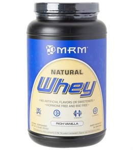 MRM Natural Whey Protein Powder (2 lbs)