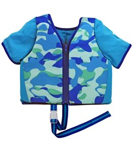 Aqua Leisure Boy's Short Sleeve Swim Vest