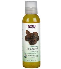 NOW Organic 100% Pure Jojoba Oil 4 oz