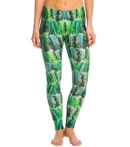 Poprageous Kale Yoga Leggings