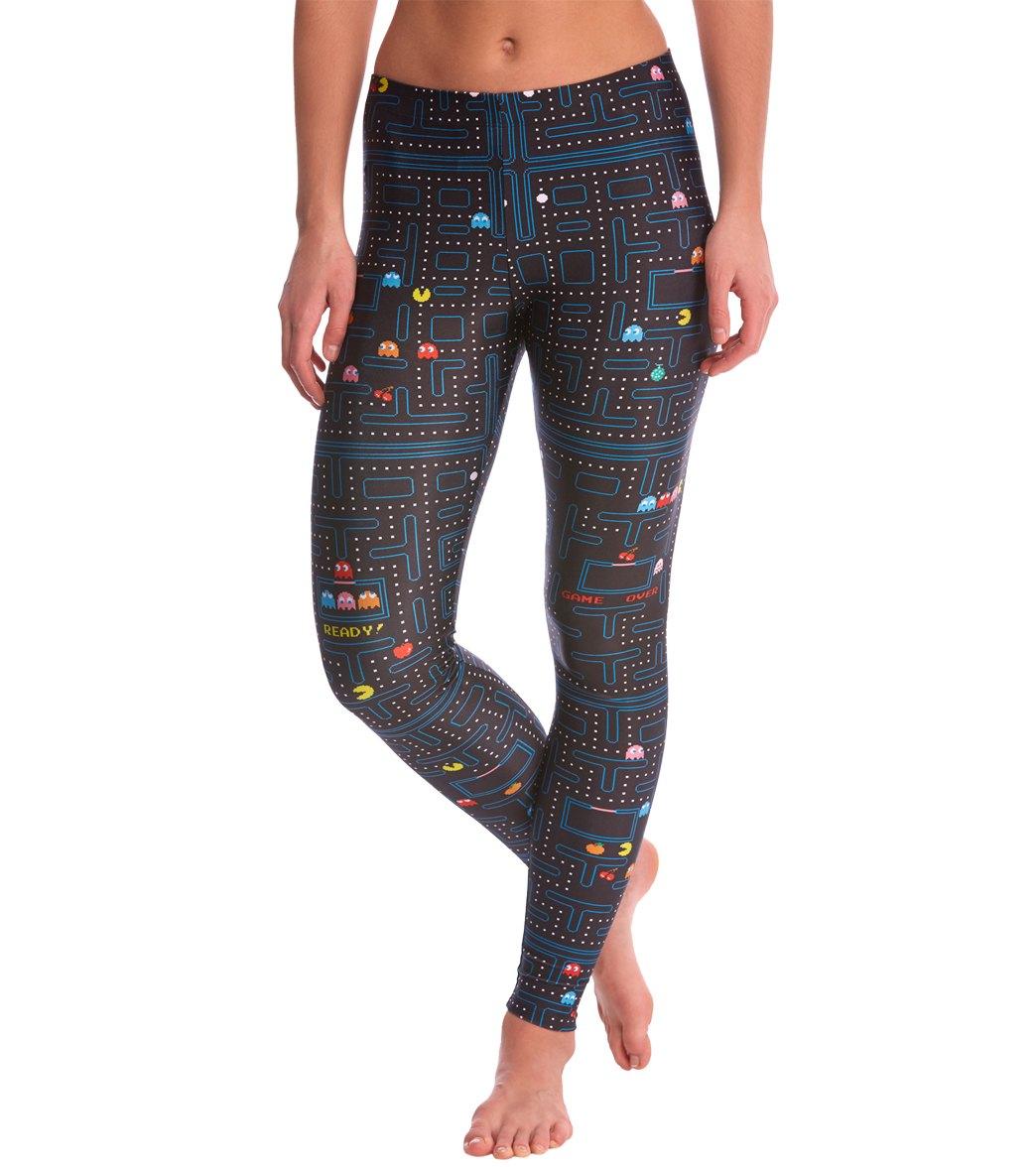 2e8b22666efb4 Poprageous Pacman Yoga Leggings at YogaOutlet.com - Free Shipping